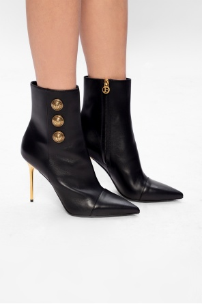 Heeled ankle boots od Balmain