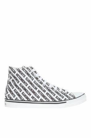 Printed high-top sneakers od Vetements