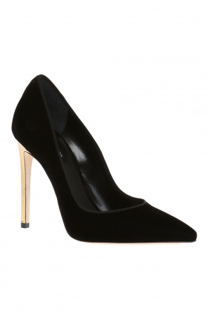 Pointed toe velvet pumps od Dsquared2