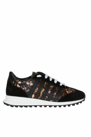 Floral motif sneakers od Dsquared2