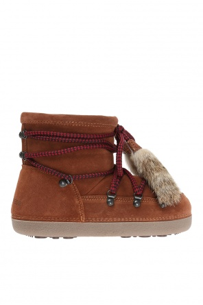 Snow boots with fur tassels od Dsquared2
