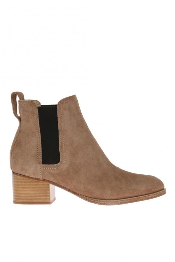 Suede heeled chelsea boots od Rag & Bone