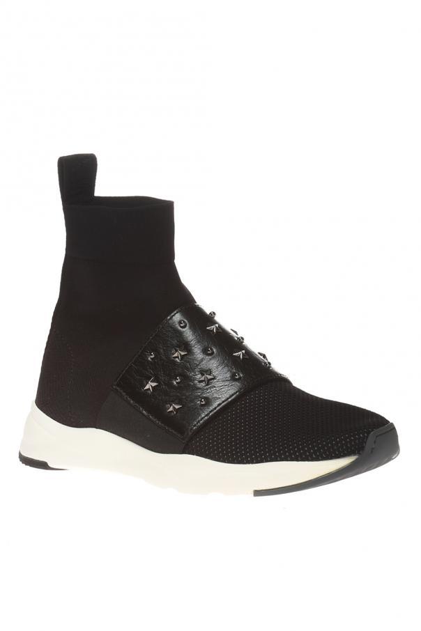 6c2a852ab43 Cameron' high-top sneakers with sock Balmain - Vitkac shop online