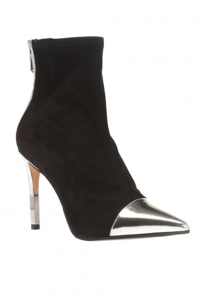 Heeled boots with pointed toe od Balmain