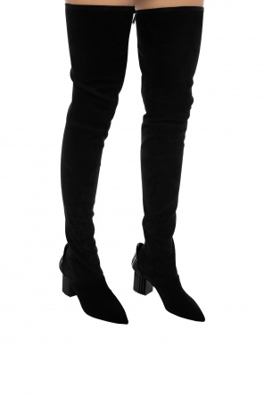 cb183bc2130 Heeled over-the-knee boots od Balmain ...