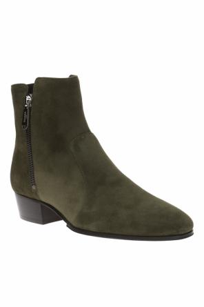 Western' suede boots od Balmain