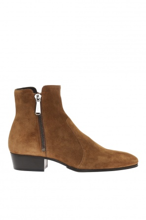 Suede ankle boots od Balmain