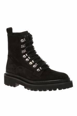 Suede boots od Balmain