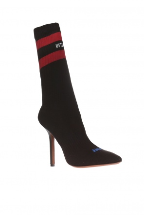 Stiletto shoes with a sock od Vetements