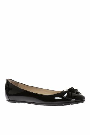 'walker' leather ballet flats od Jimmy Choo