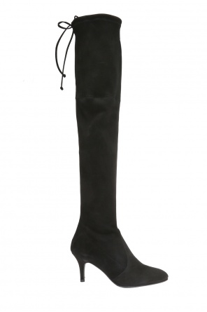 Heeled over-the-knee boots od Stuart Weitzman