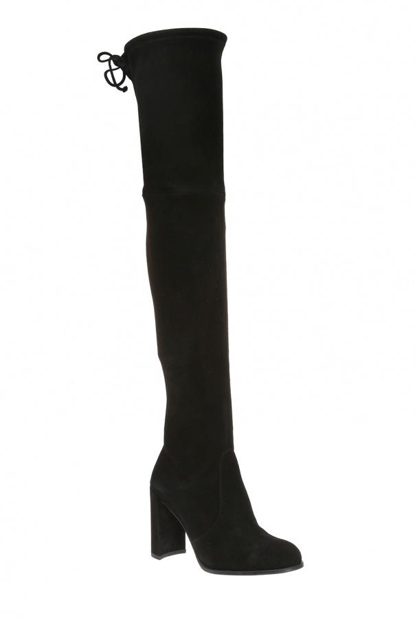 Kozaki za kolano na obcasie  'hiline' od Stuart Weitzman