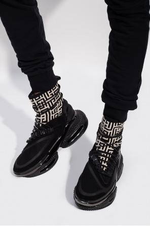 'b-bold' high-top sneakers od Balmain