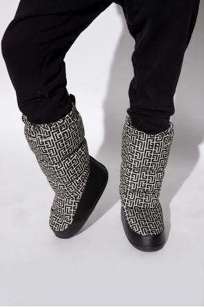 Snow boots with logo od Balmain