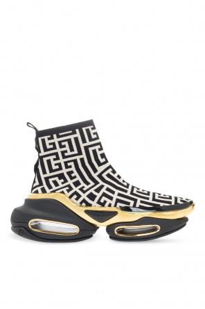 Sneakers with sock od Balmain