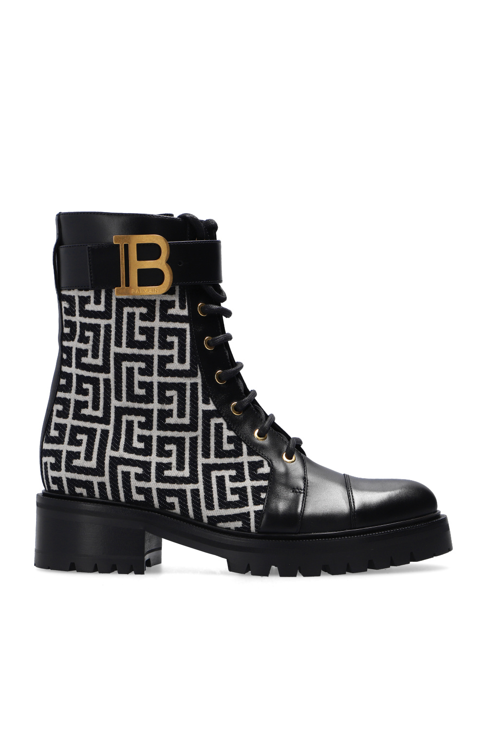 Balmain Ankle boots with logo