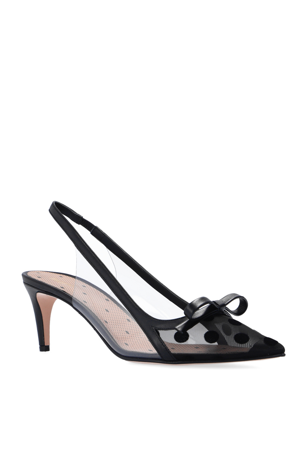 Red Valentino Pumps with geometrical pattern