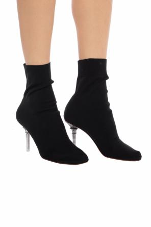 Embellished boots with sock od Vetements