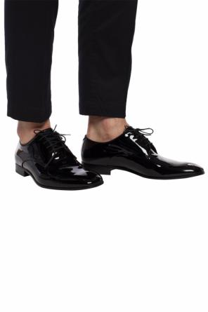 Patent leather derby shoes od Giorgio Armani