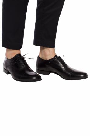Leather derby shoes od Giorgio Armani