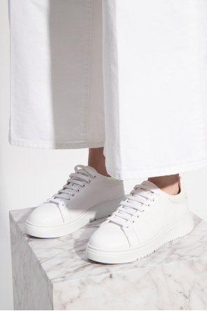 Sneakers with logo od Emporio Armani