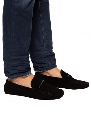 绒面革莫辛卡软皮鞋 od Emporio Armani