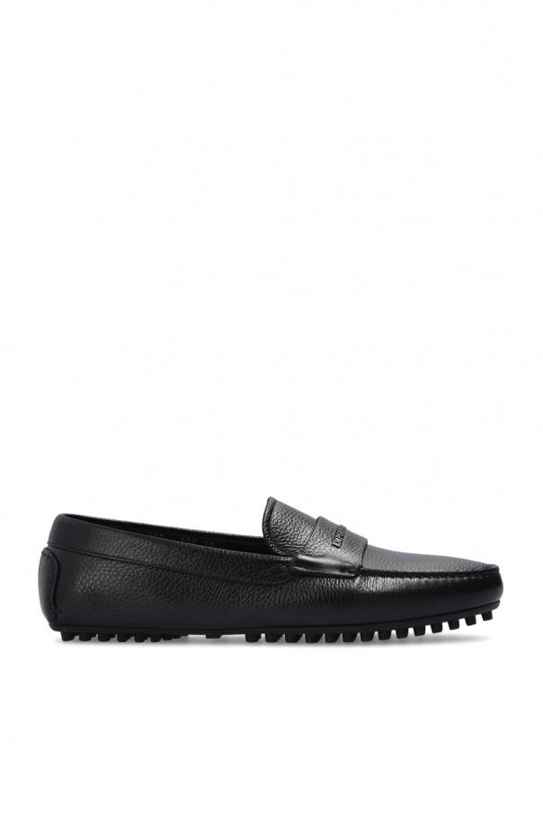 Emporio Armani Leather moccasins