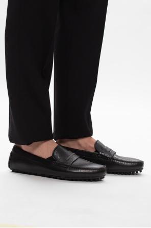 Leather moccasins od Emporio Armani