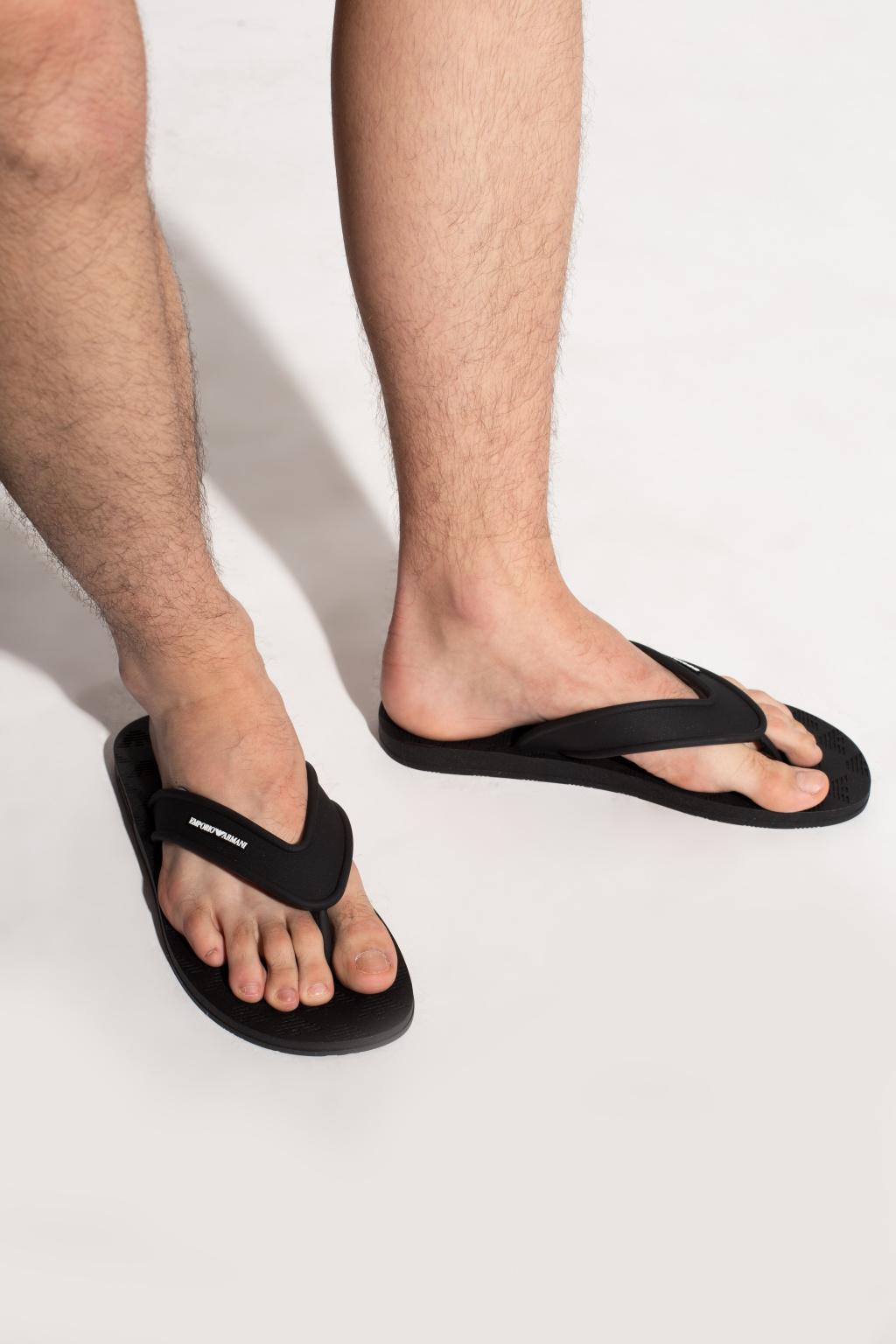 Emporio Armani Flip-flops with logo