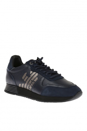 Leather sneakers od Emporio Armani