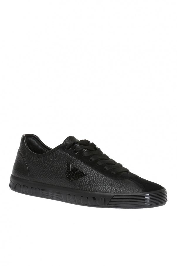 e605027fa80 Leather sneakers Emporio Armani - Vitkac shop online