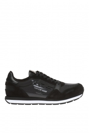 Lace-up logo sneakers od Emporio Armani
