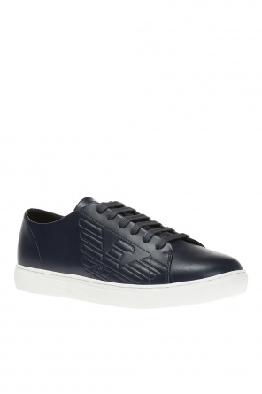 Logo-embossed sneakers od Emporio Armani