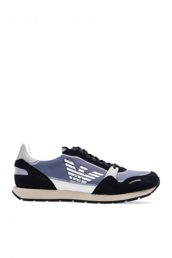 Emporio Armani Sneakers with logo