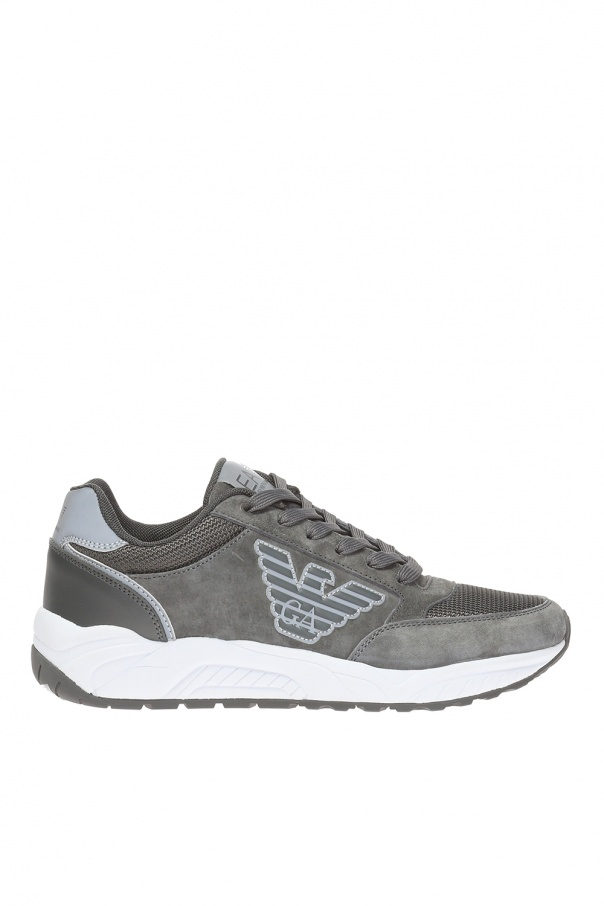 7e80a30094c Logo-patched sneakers EA7 Emporio Armani - Vitkac shop online