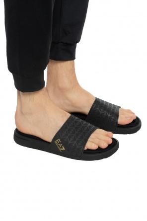 af3031bef621 Slippers with a convex logo od EA7 Emporio Armani ...