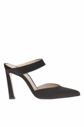 'eventually' heeled slides od Stuart Weitzman