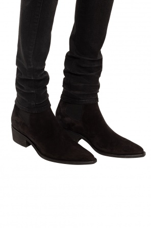 Heeled suede chelsea boots od Amiri
