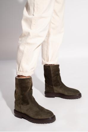 'yari' suede boots od Jimmy Choo