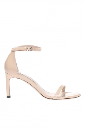 'nudist' heeled sandals od Stuart Weitzman