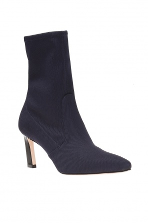 'rapture' heeled boots with sock od Stuart Weitzman