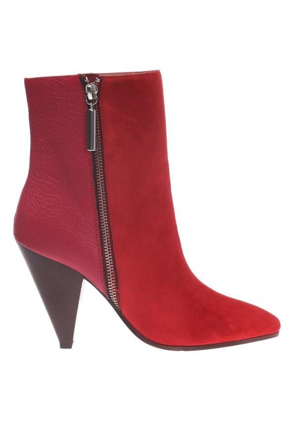 2ee5b9eaa879 Cone  ankle high heeled boots Stuart Weitzman - Vitkac shop online