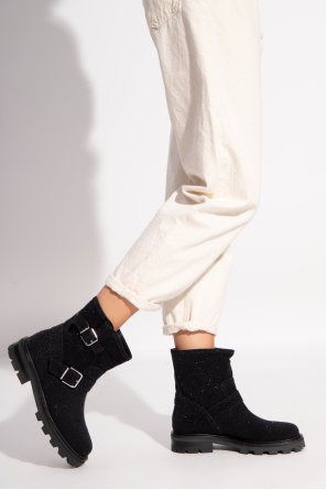 'youth ii' leather ankle boots od Jimmy Choo