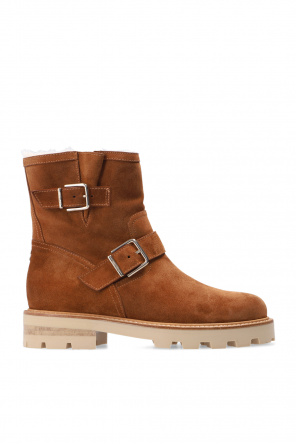 'youth ii' suede ankle boots od Jimmy Choo