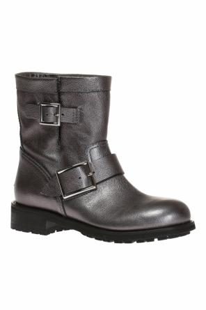 'youth' buckled ankle boots od Jimmy Choo