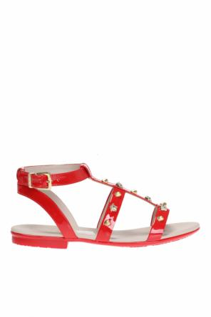 Patent leather sandals od Versace Young