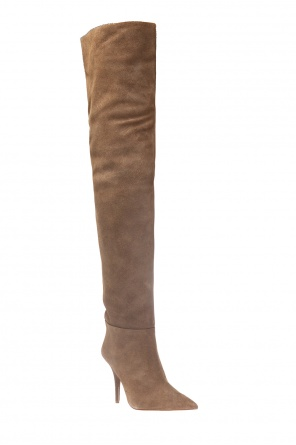 Over the knee heeled boots od Yeezy