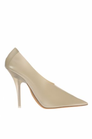 Translucent stiletto pumps od Yeezy