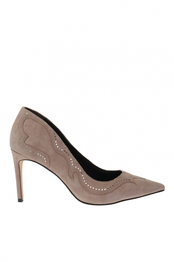 AllSaints 'Zehra' suede stiletto pumps