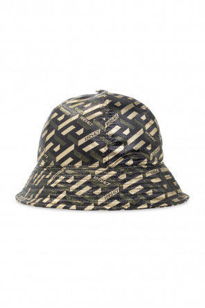 Bucket hat with logo od Versace